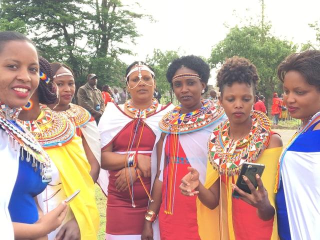 Maasai Frauen