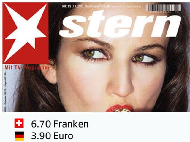 Der «Stern» im nationalen Preisvergleich.