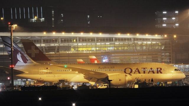 Die neue Boeing der Qatar-Airways