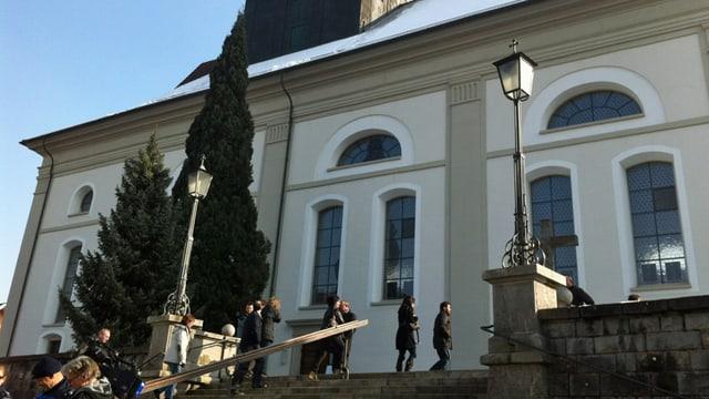 Die katholische Pfarrkirche Peter und Paul in Willisau