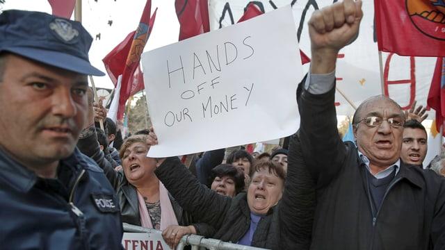 Proteste in Nikosia