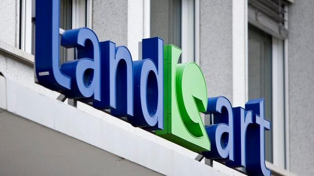 Logo Landquart SA.