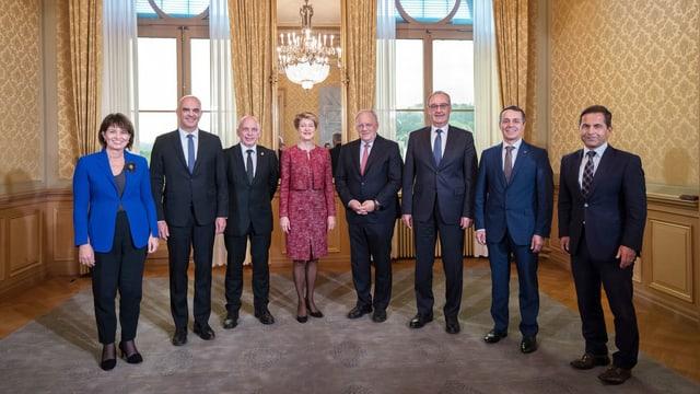 Bild des Gesamtbundesrats