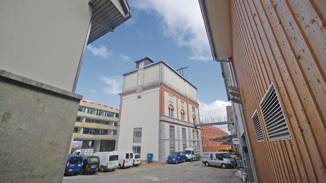 Das Areal der ehemaligen Brauerei Gurten