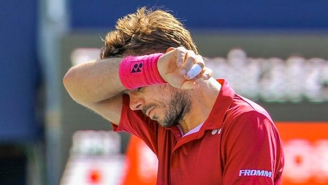 Stan Wawrinka fruscha davent il suaditsch suenter in turnier.
