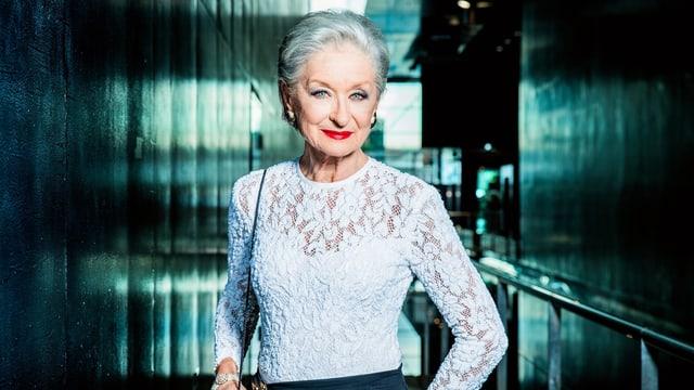 Heidi Maria Glössner in der Schweizer «Tatort»-Folge «Die Musik stirbt zuletzt» von 2018.
