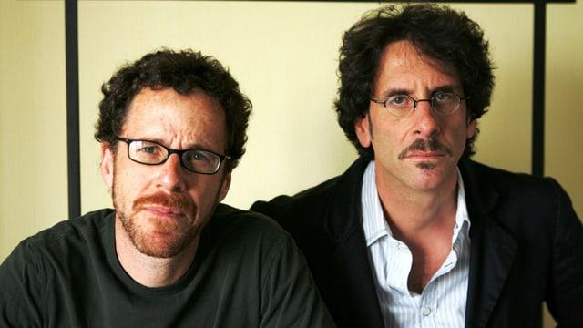 Porträt Ethan und Joel Coen.