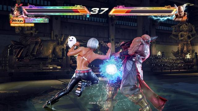 Gegen Heihachi.