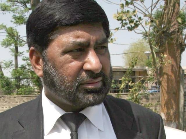 Nahaufnahme Chaudhry Zulfikar.