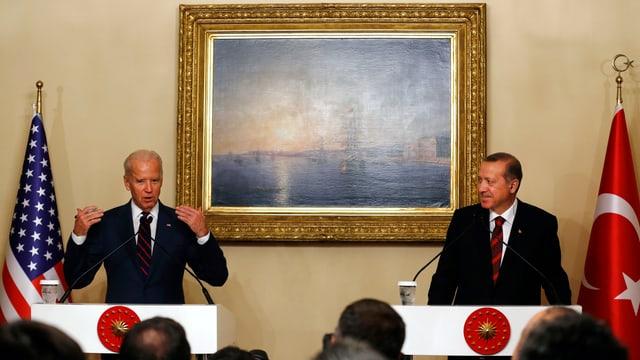 Biden und Erdogan bei einem früheren Treffen in Istanbul