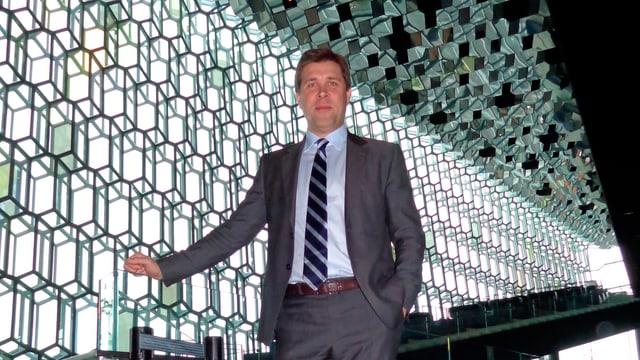 Der 43jährige Bjarni Benediktsson aus Island.
