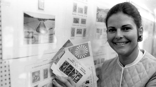 Silvia Sommerlath als Olympia-Hostess 1972