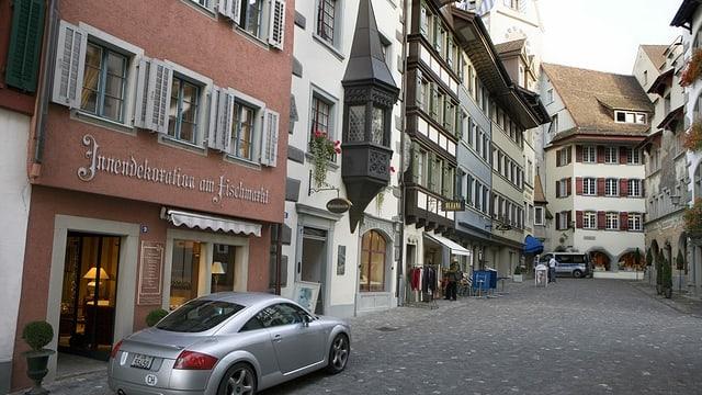 Ein Blick in die Zuger Altstadt.