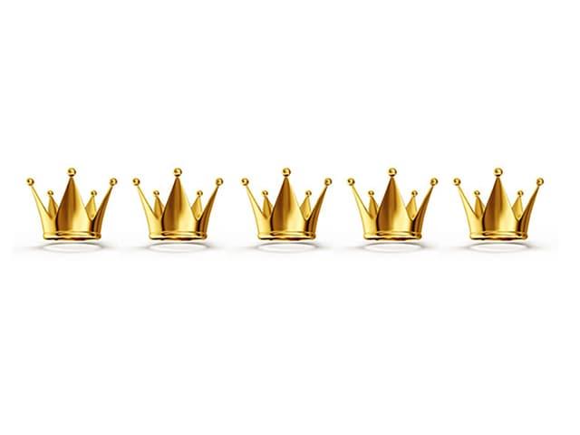 Bild mit Fünf Kronen
