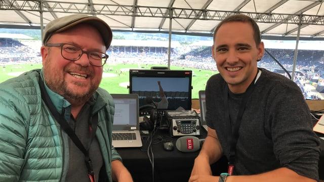 Per Vus a Zug da la partida: Roman Dobler ed Andreas Wieland.