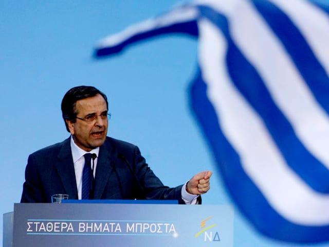 Regierungschef Antonis Samaras