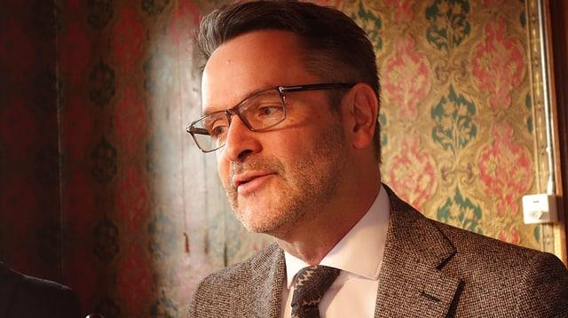 Giovanni Netzer preschenta il programm d'enviern.