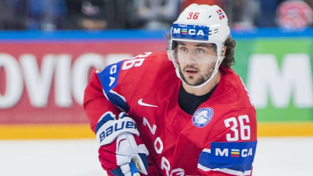 Mats Zuccarello in Aktion.