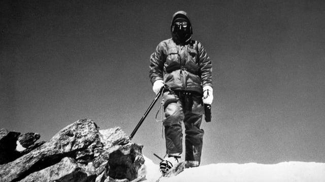 Norbert Joos en il Himalaya.