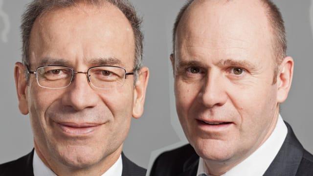 Hannes Germann und Thomas Hurter
