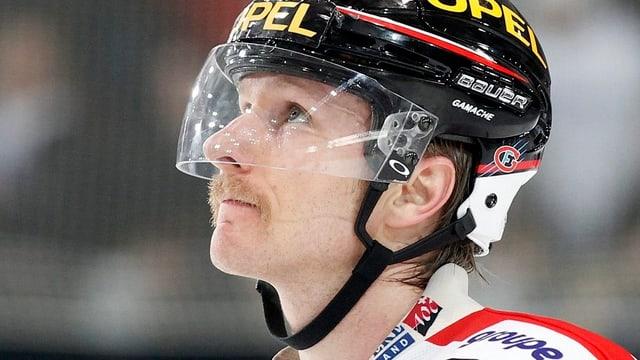 Simon Gamache stürmt nun für die Adler aus Mannheim.
