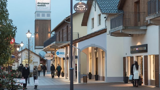 Das Outlet Center Landquart