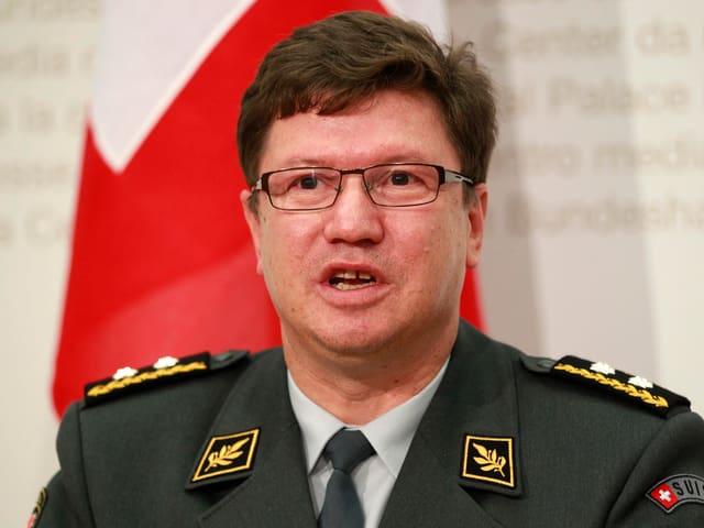 Aldo C. Schellenberg Kommandant Schweizerische Luftwaffe.