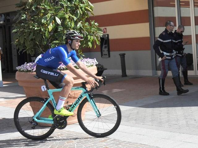 Umberto Marengo vom Team Wilier Triestina-Selle Italia.