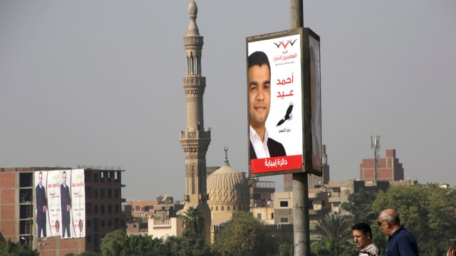 Wahlen in Ägypten.