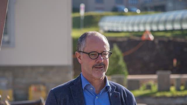Silvio Schmid, CEO da las pendicularas Skiarena Andermatt-Sedrun.