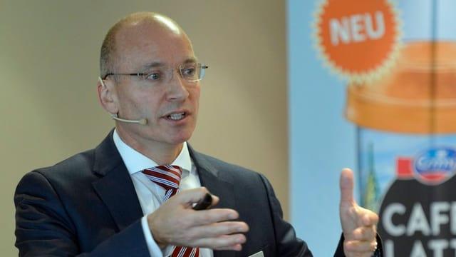Emmi-CEO Urs Riedener.