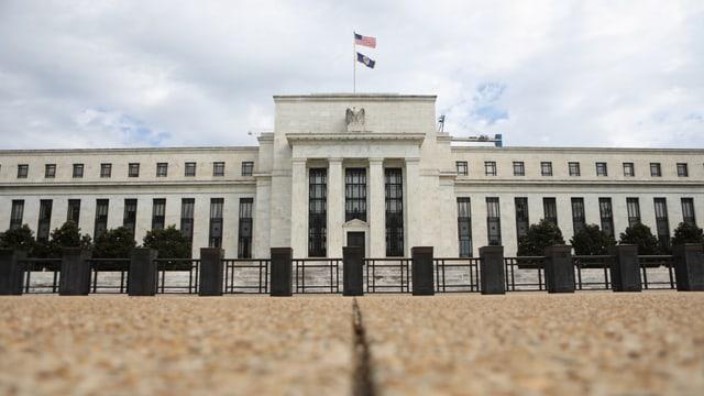 Sitz der US-Notenbank.