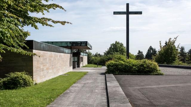 Der Friedhof Nordheim in der Stadt Zürich.