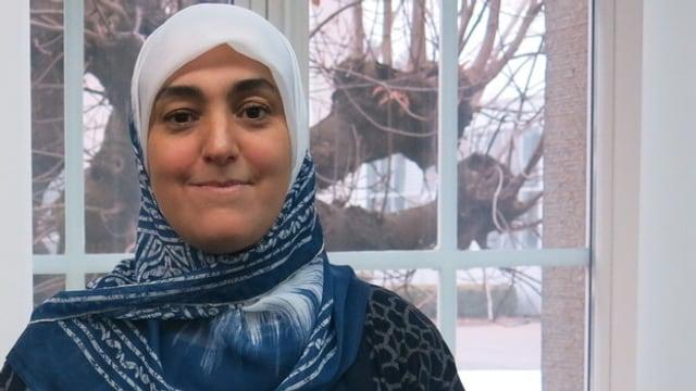 Naima Serroukh ist Juristin und Integrationshelferin. Sie kam vor 17 Jahren in die Schweiz.