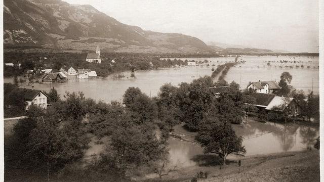Bild einer Überschwemmung