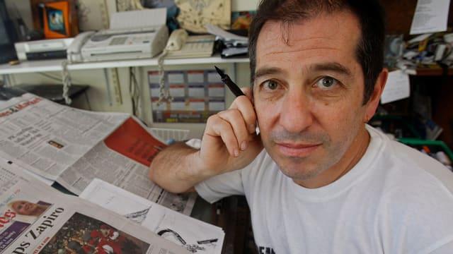 Cartoonist Zapiro