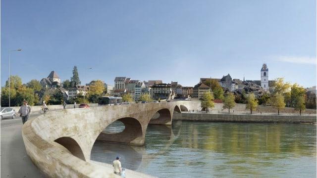 Visualisierung der Pont Neuf