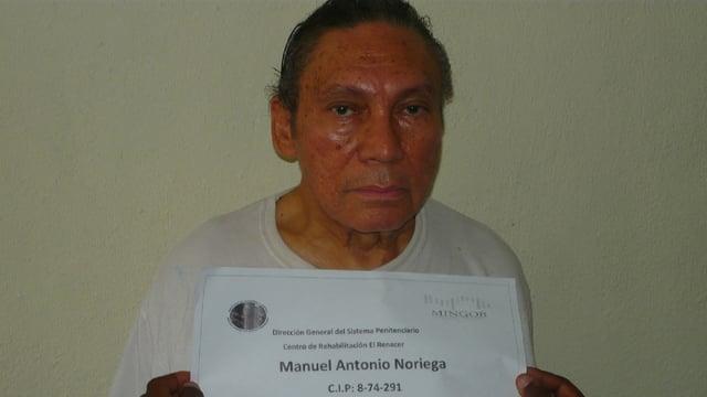 Noriega als Gefangener