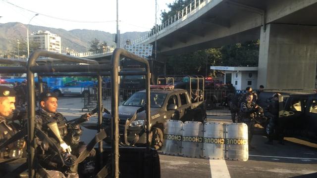 forzas da segirtad a Rio