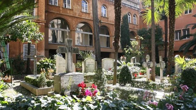 Der Friedhof Campo Santo Teutonico.