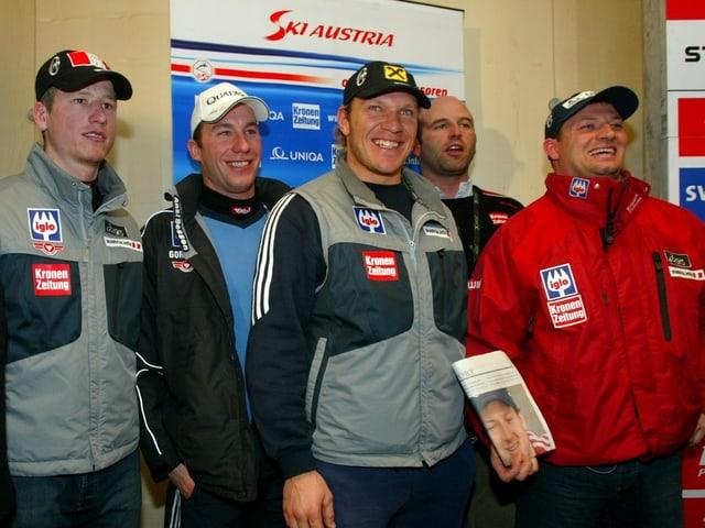 Super-G-Team Österreichs 2003