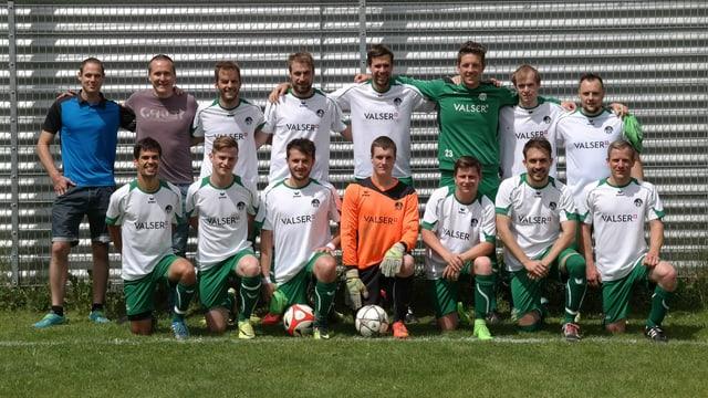 foto d'equipa dal CB Val