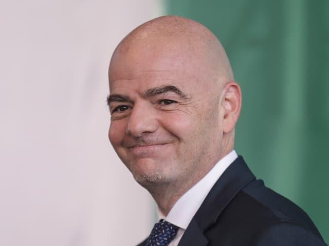 Fifa-Präsident.
