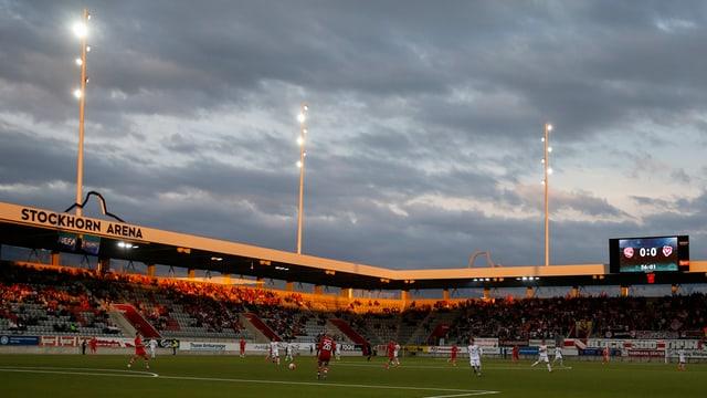 Stockhorn-Arena: Keine rosigen Aussichten - die Lage ist düster.