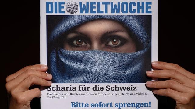 «Weltwoche»-Titelbild