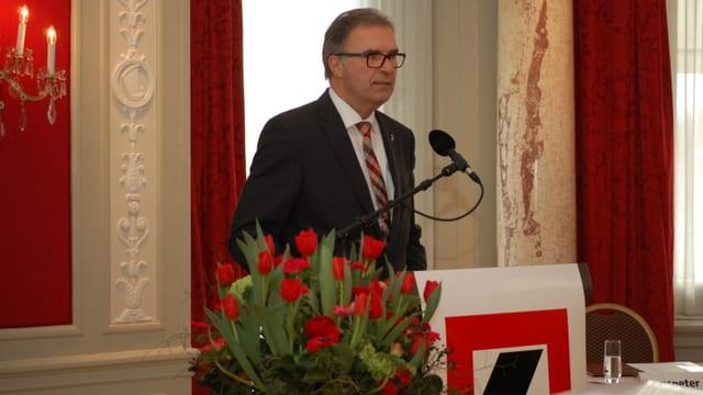 BEKB-Geschäftsleitungsvorsitzender Hanspeter Rüfenacht.
