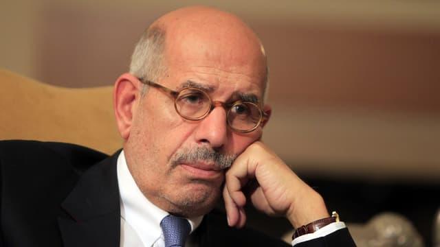 Mohammed ElBaradei im Porträt.