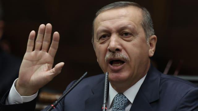 Türkischer Ministerpräsident Recep Tayyip Erdogan