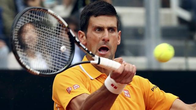 Djokovic dat tennis