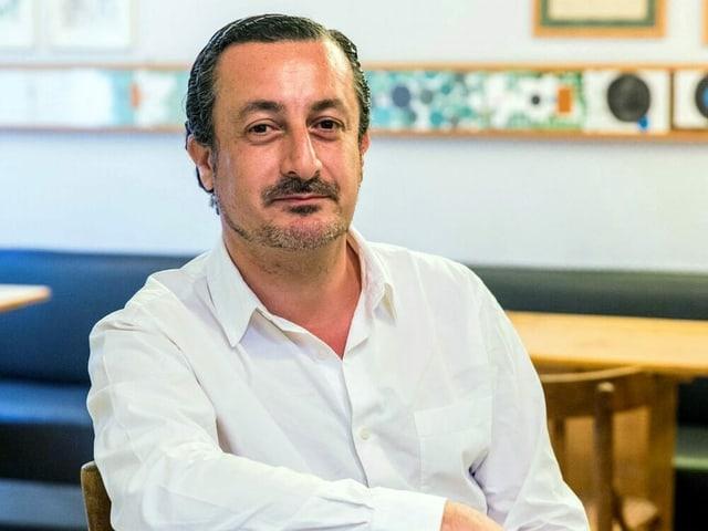 Porträt von Kamal Mouzawak.